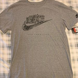 Nike New York Skyline Swoosh Tee